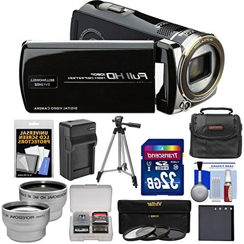 Bell & Howell DV12HDZ 1080p HD Video Camera Camcorder  with