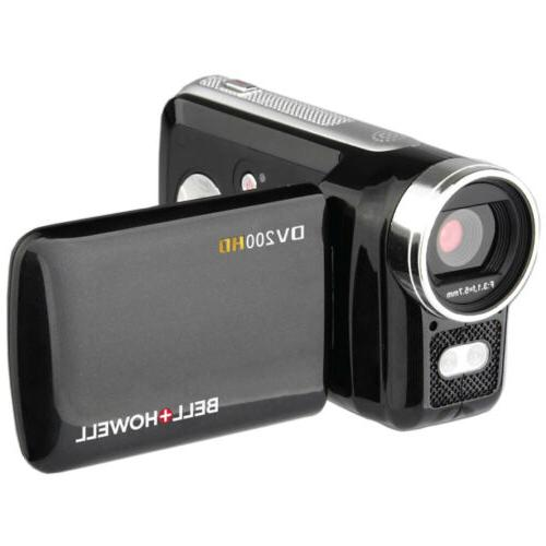 Bell Howell HD with Built-in Video Light Kit