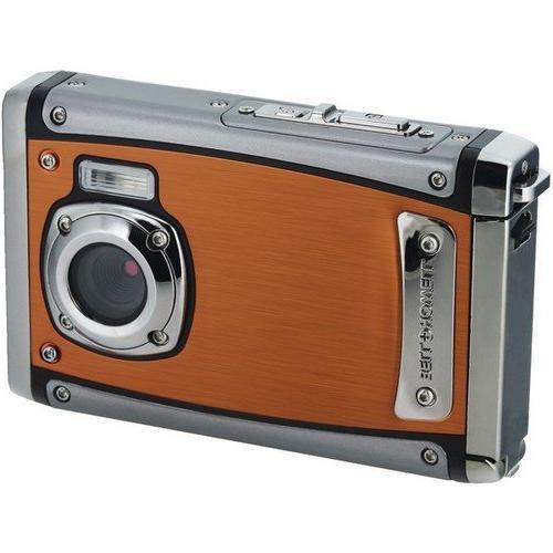 Bell+Howell WP20-O Mega Waterproof Digital Camera 1080p HD Video, LCD & Zoom,