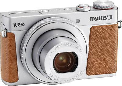 Canon - Powershot G9 X Mark Ii 20.1-megapixel Digital Camera