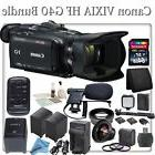 Canon VIXIA HF G40 Full HD Camcorder with Pro Bundle: Includ