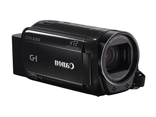 Canon - Vixia Hf R72 32gb Hd Flash Memory Camcorder - Black