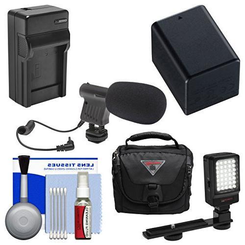 Essentials Bundle for Canon Vixia HF R70, R700, R72, R80, R8