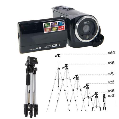 HD 16X Digital LCD Screen Zoom Video Camcorder Camera DV wit