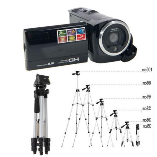 HD 16X Digital LCD Screen Zoom Video Camcorder Camera DV wit