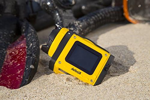Kodak PIXPRO SP1 Action Cam with 14 MP Full Digital Camera and LCD