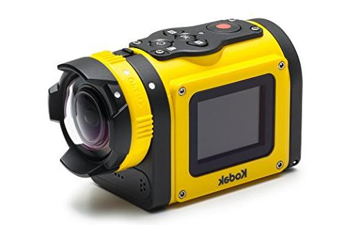 Kodak PIXPRO Action Cam with 14 MP Full 1080p Video, Digital Camera LCD