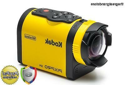Kodak PIXPRO SP1 Action Cam with Explorer Pack 14 MP Water/S