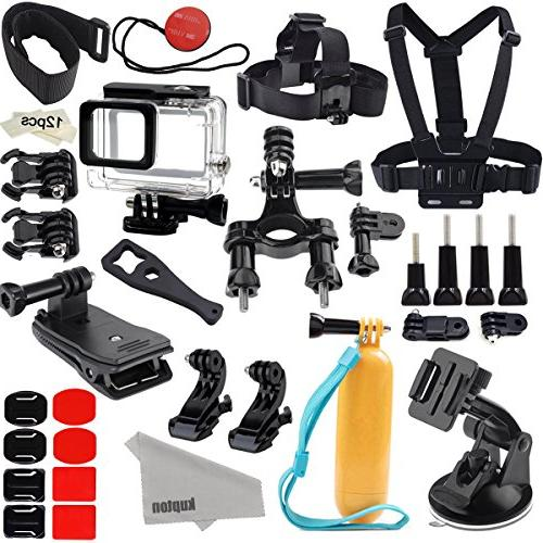 Kupton Accessories for GoPro Hero /6/5 Action Camcorder Came