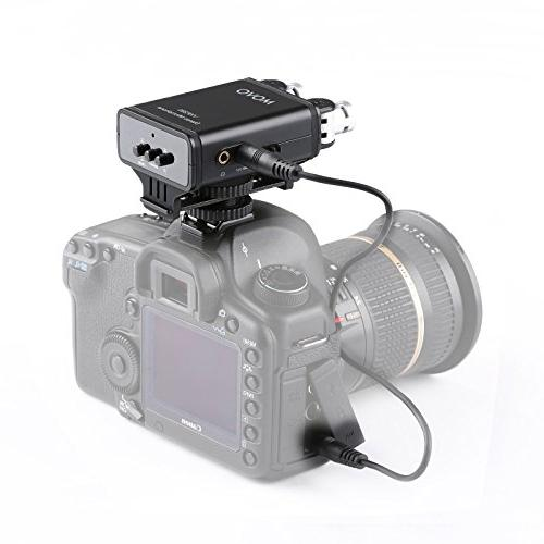 Movo Condenser Stereo Video with Directional Mic Capsules