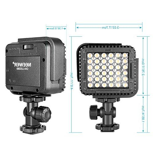 Neewer LED Video for Canon DV