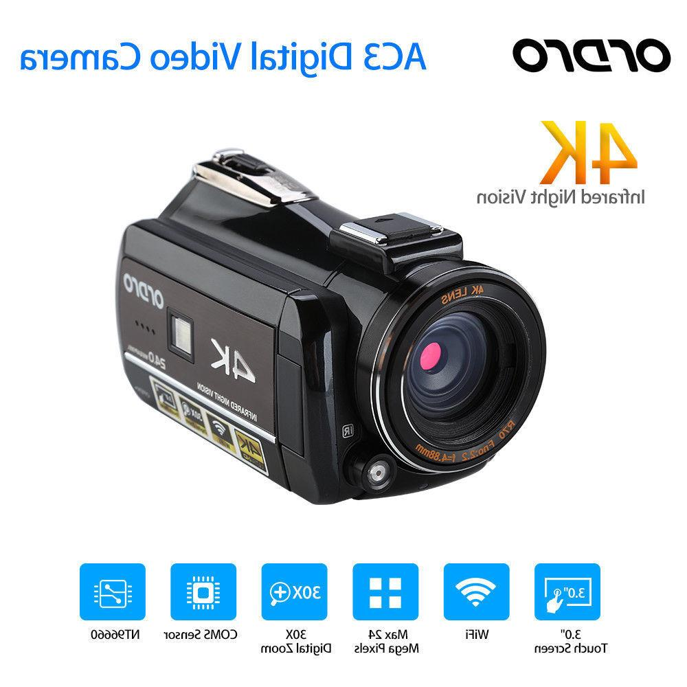 ORDRO AC3 Camera Video Camcorder