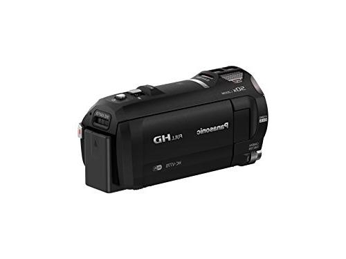 Panasonic - Hd Flash Memory Camcorder Black