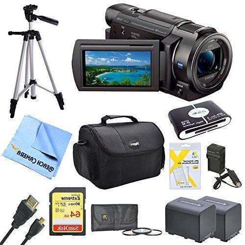 Sony FDRAX33 FDR-AX33 FDR-AX33/B AX33 4K HD Video Recording