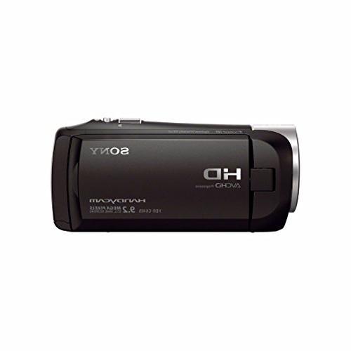 Sony HDR-CX405/B Handycam Camcorder w/ 32GB Accessory