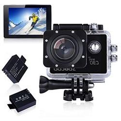 Sports Camera, SOOCOO 4K Action Camera 20MP 2.0 Inch Waterpr