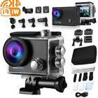 4K Full HD Waterproof Sport Camera WiFi Action Camcorder W/