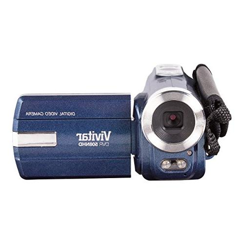 Vivitar DVR508NHD-BLU DVR-508 Digital Zoom Video Colors