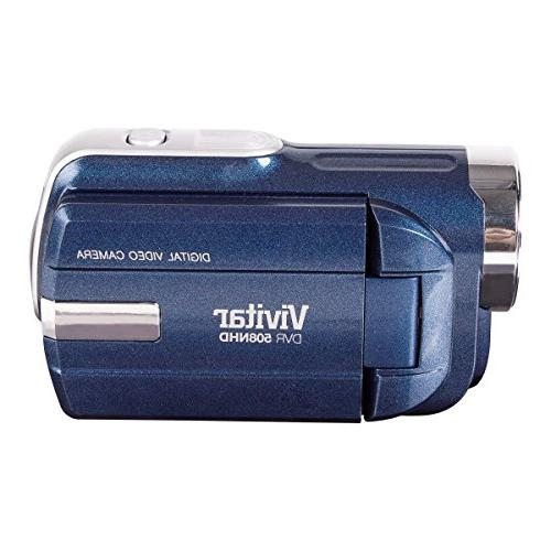 Vivitar DVR508NHD-BLU Digital Zoom Colors May