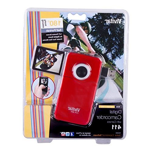"Vivitar 1.8"" Screen, May Vary"