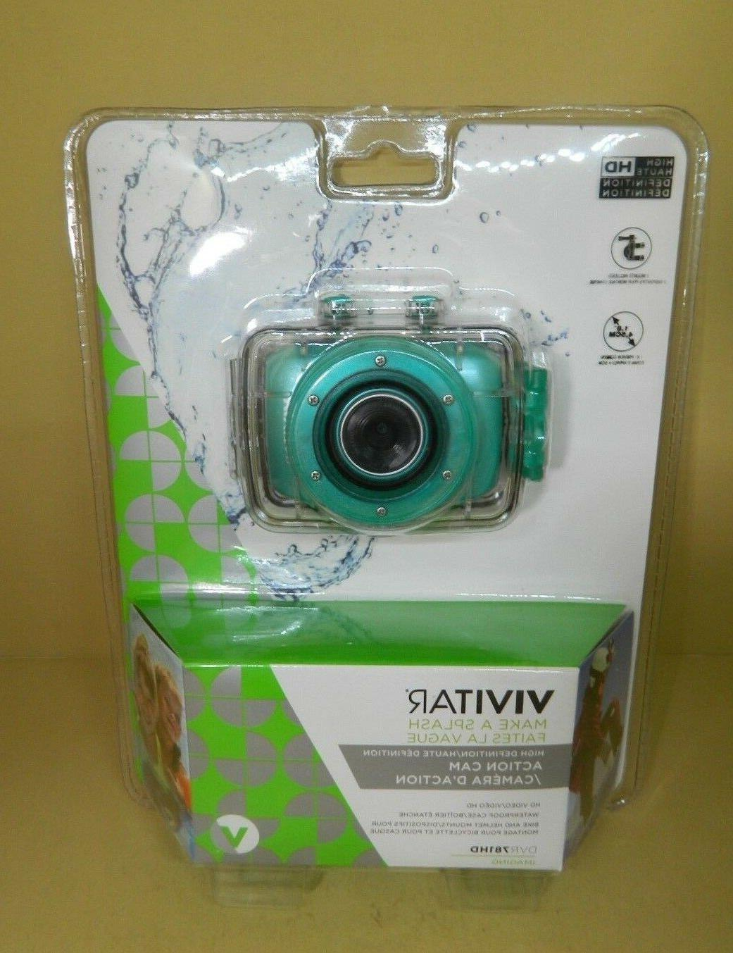 Vivitar High Definition Cam Video 720p Camera DVR781HD