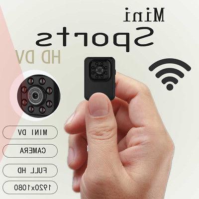 WIFI Mini Camera HD Camcorder Night Vision 1080P Video Recor