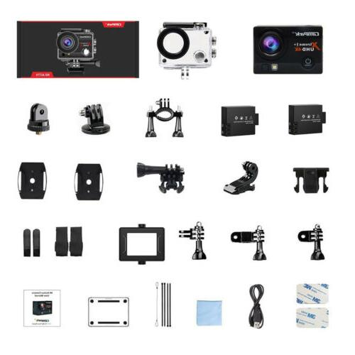 Campark Action Camera 16MP Underwater DVR Camcorder US