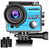 Campark ACT74 Action Camera 4K WiFi Waterproof Sports Camera