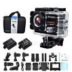 Campark ACT74 WIFI 4K Action Cam Waterproof Sport Camera w/