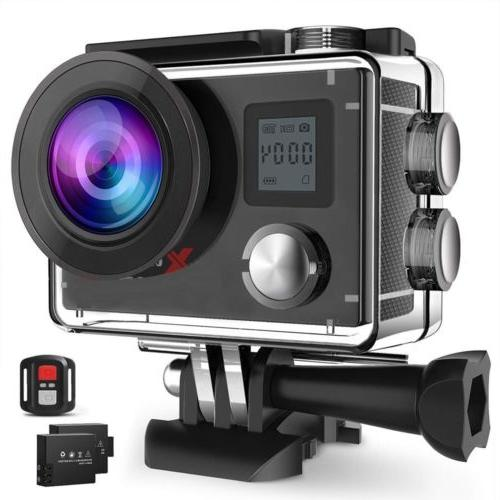 ACT76 Action Cam 4K 20MP WIFI Sports Camera Ultra HD Waterpr