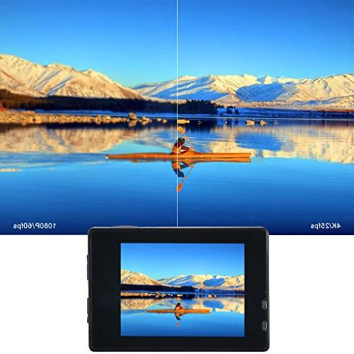 Wifi 4K Ultra 12MP Angle 2 LCD Screen