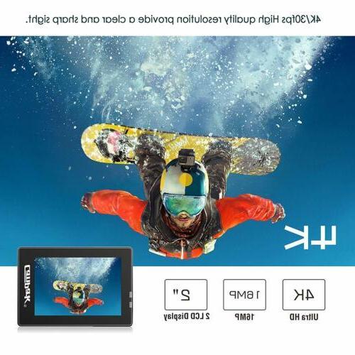 Campark Action WiFi Cam Waterproof 170°