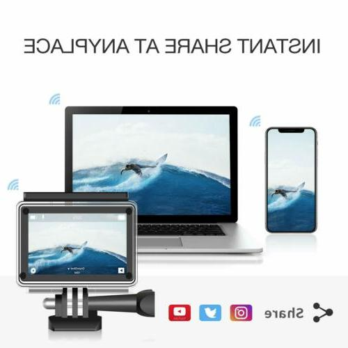 Campark Action WiFi Ultra HD Cam Underwater 170°