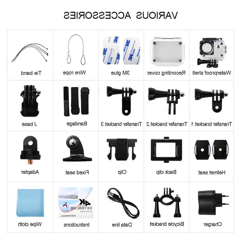 Action <font><b>HD</b></font> WiFi Control Sports Video Camcorder DV Waterproof pro Mini <font><b>Camera</b></font>