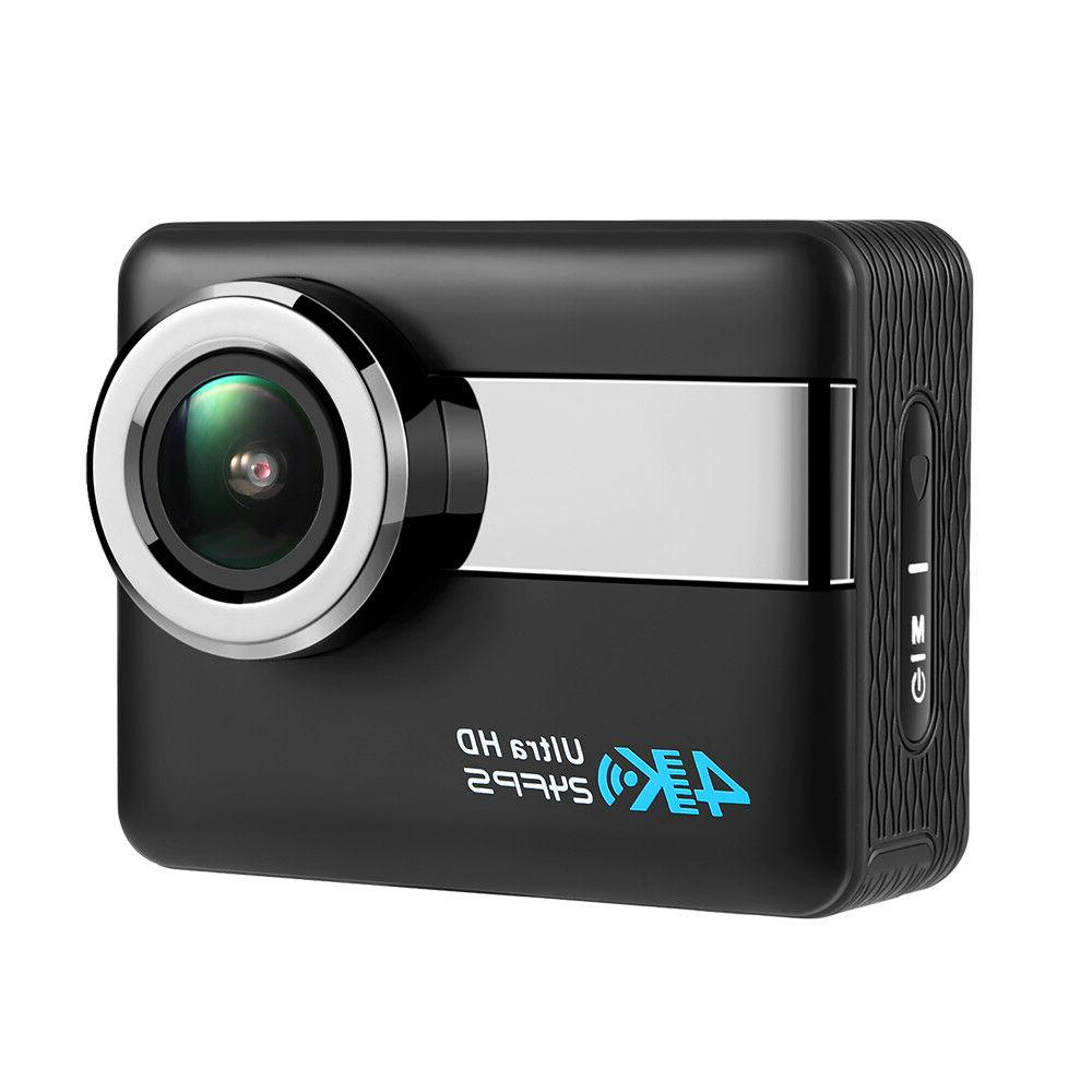 Action Camera 4K HD Touchscreen Waterproof DV Camcorder Imag