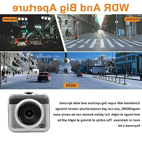 Yikoo Camcorder, Degrees Wide Angle,1080P FHD LCD HD G-Sensor, Recording, Mode