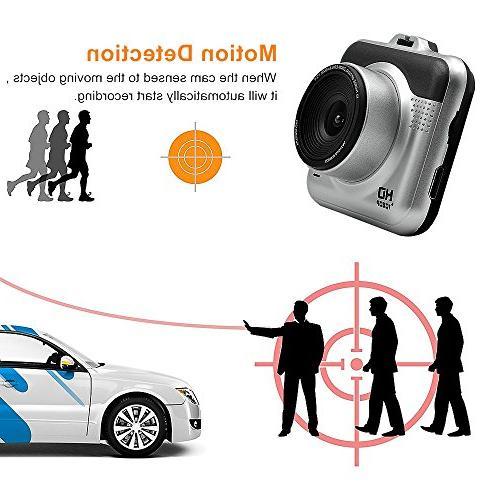 Yikoo Camcorder, 140 Angle,1080P FHD LCD Screen, Recording, HD G-Sensor, Recording, Mode