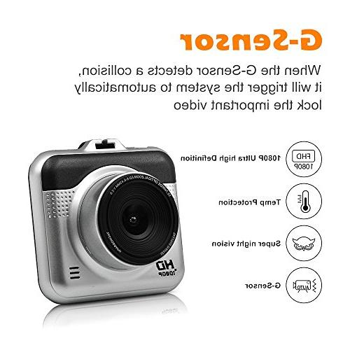 Yikoo Portable Camcorder, Angle,1080P HD,2.2'' LCD Screen, Recording, HD Recording, Mode