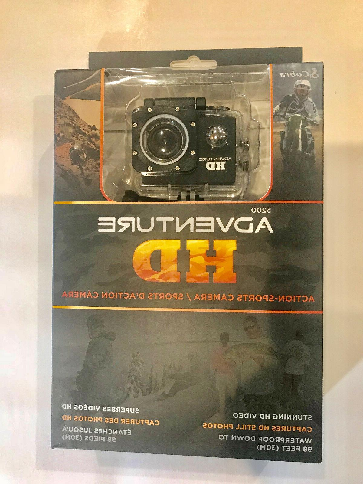 Cobra Adventure HD 1.3 MP Action Camera ‑ 1080p #C60900380