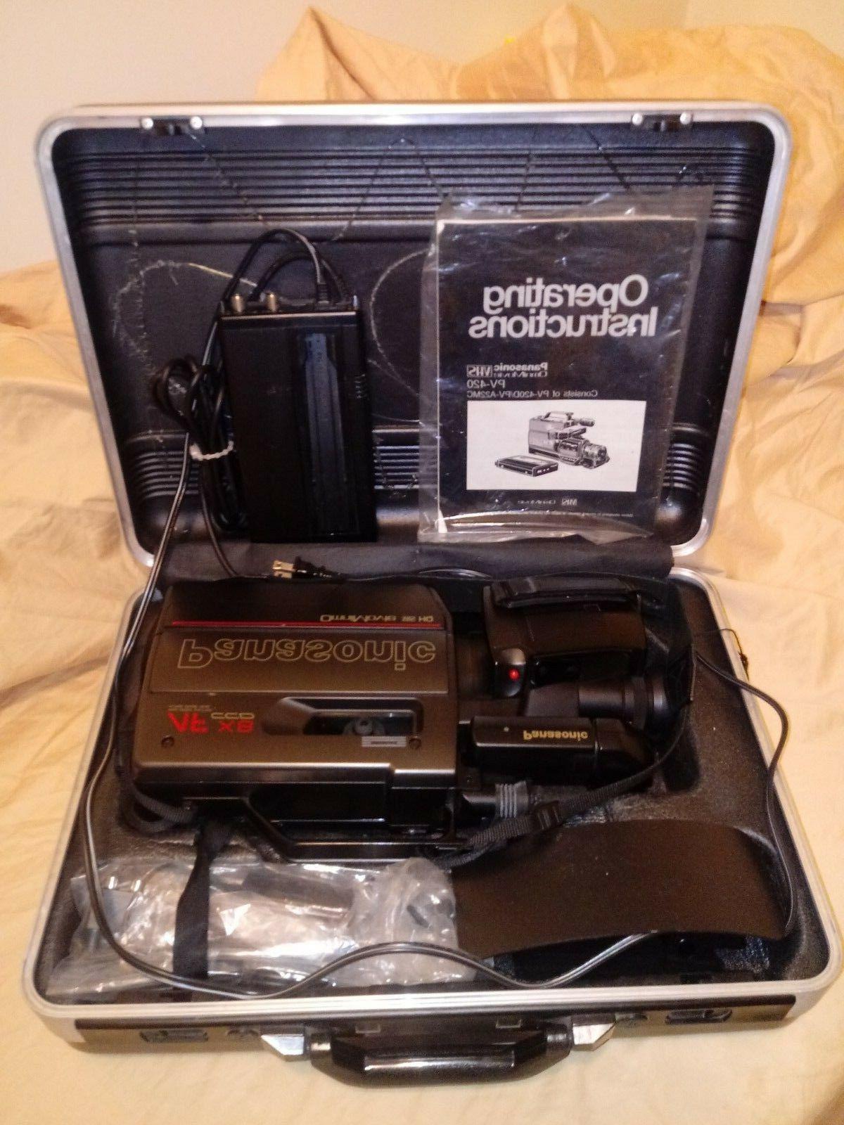 Panasonic Af X8 Ccd Omnimovie Vhs Hq Camcorder