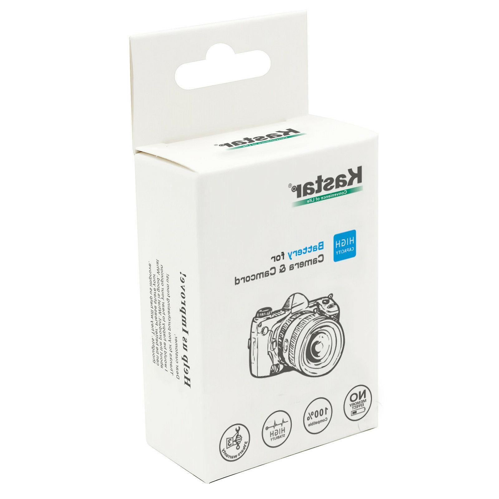 Kastar for & FS300 Camcorder