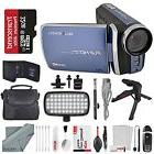 Bell & Howell Blue DV30HD 1080p HD Video Camera Camcorder +