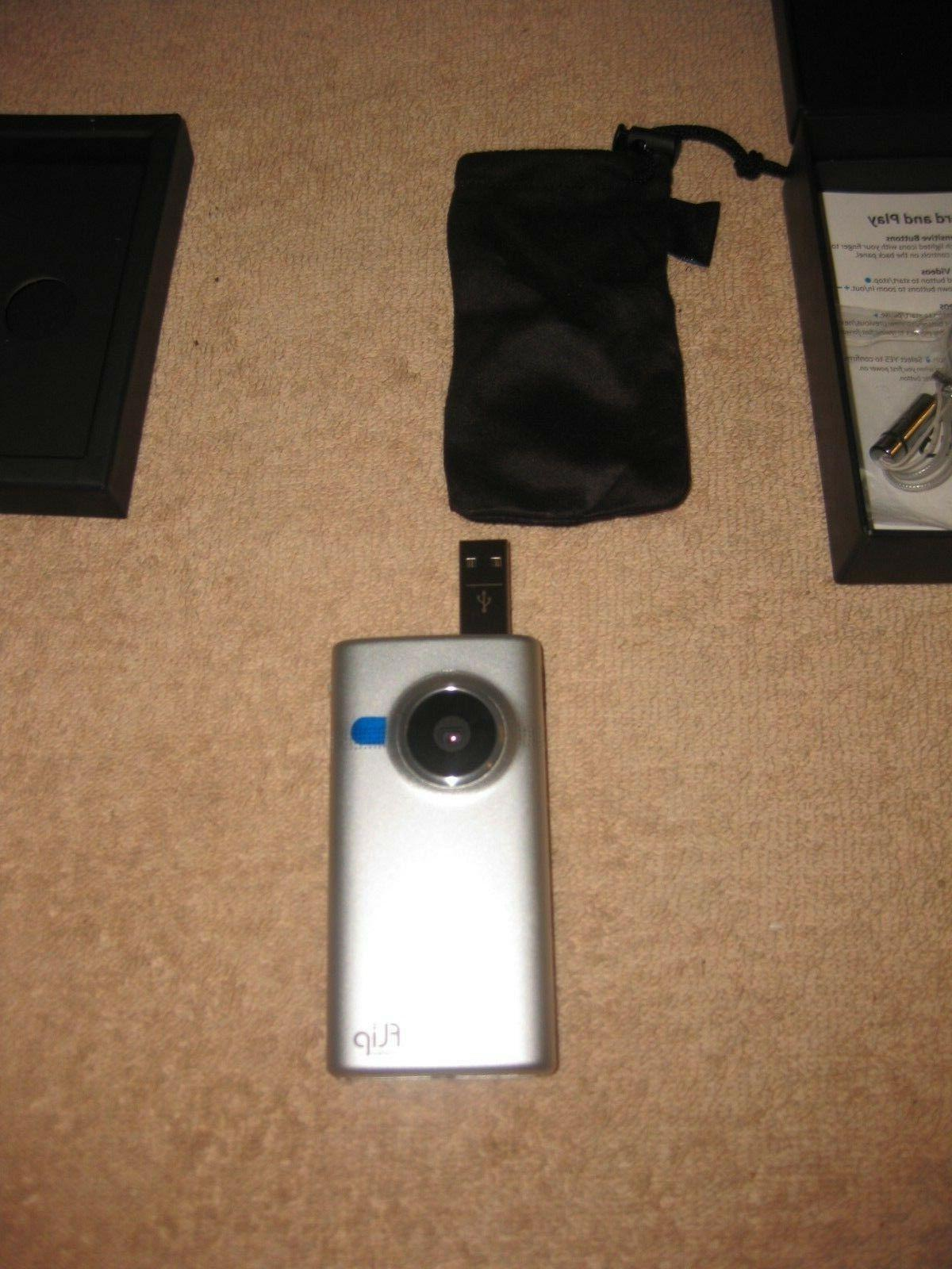 BRAND NEW Flip M2120 HD 8 GB Camcorder Metal