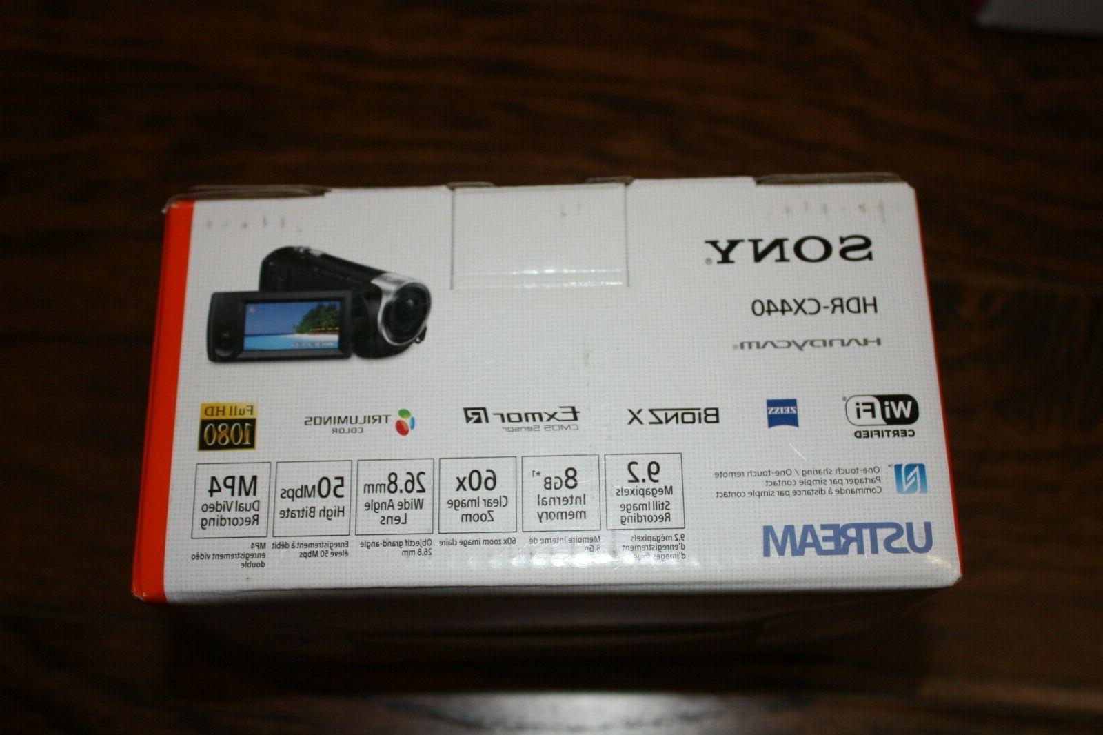 Brand NIB Sony Handycam 9.2 1080
