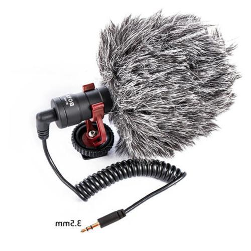BOYA BY-MM1 Cardiod Shotgun Video Microphone Mic Video for i