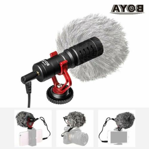 BOYA BY-MM1 Microphone F DSLR Camera Android IOS Mobile Smar