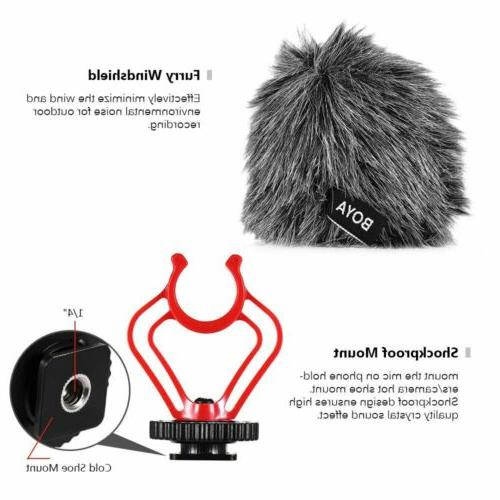 BOYA Microphone for Camera Smartphone
