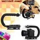C/U Shape Bracket Grip Handheld Stabilizer for DSLR Camera C