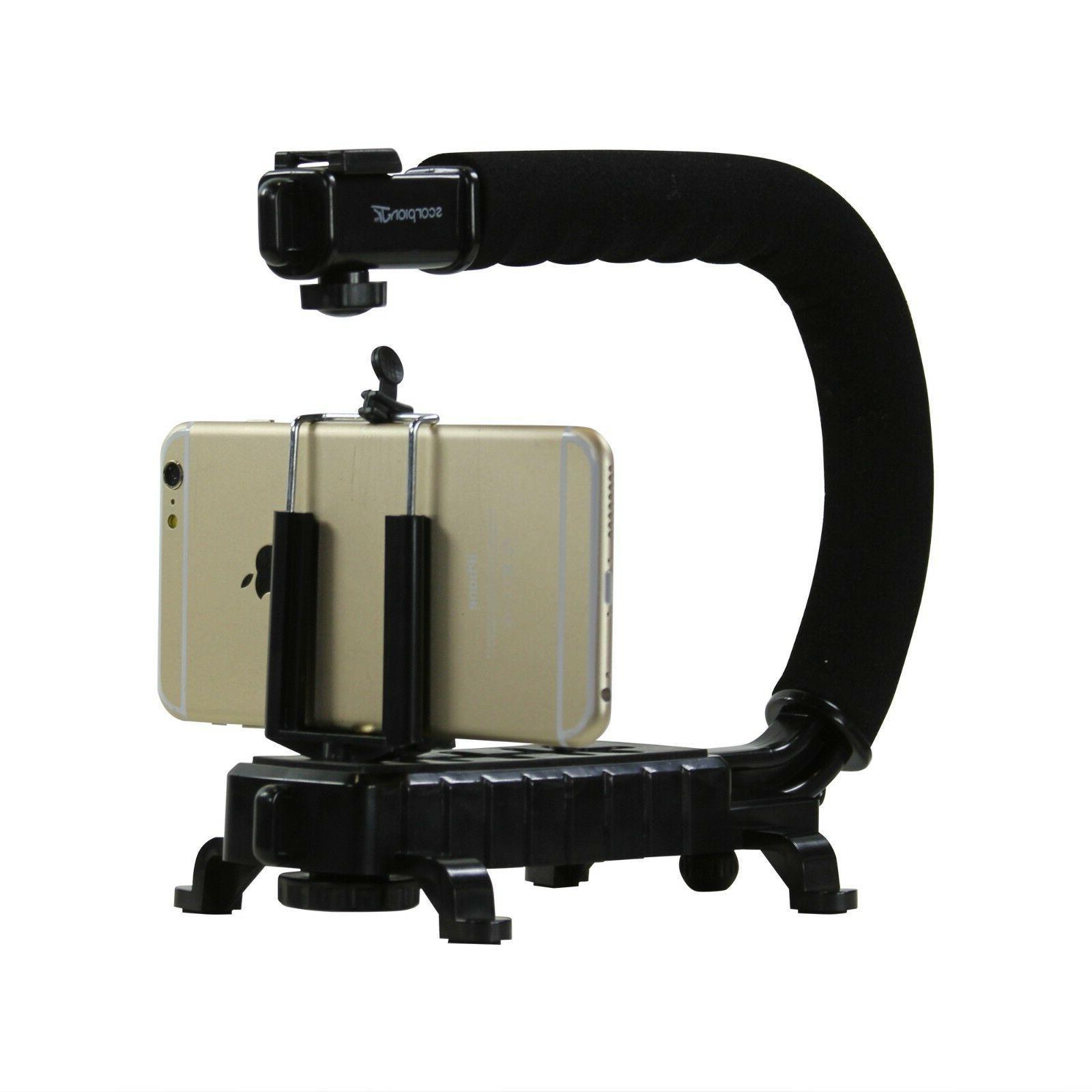 C/U Grip Camera Camcorder