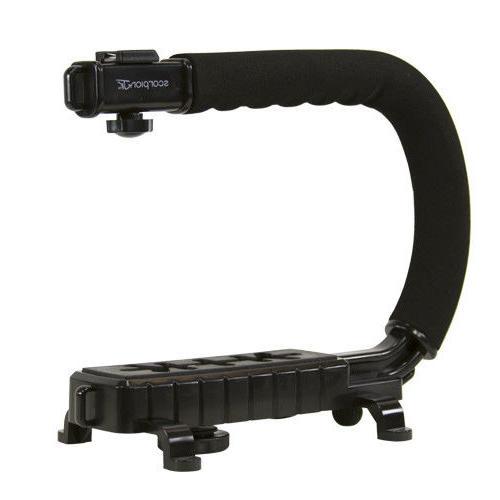 C/U Grip Stabilizer for Camera Camcorder